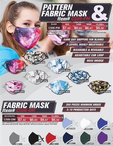 Best Fit Reusable Mask Guaranteed
