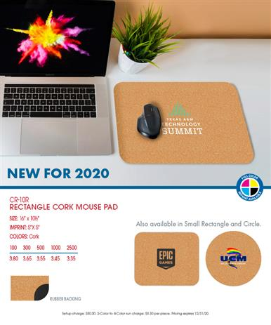 NEW Cork Mouse Pads