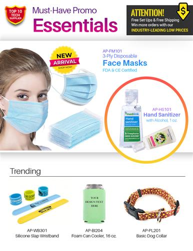 ORDER NOW 3 ply Disposable Face Masks Hand Sanitizers  more