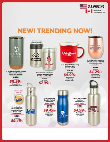 BEAT THE BUDGET WITH TRENDING DRINKWARE