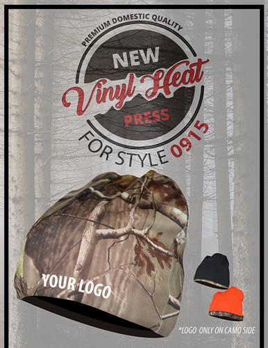 New Vinyl Heat Press for Headwear