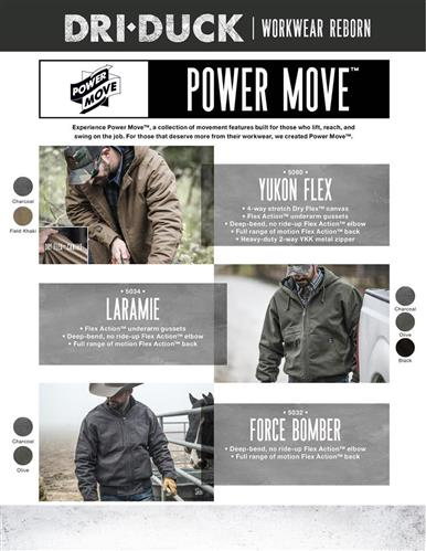 Experience movement like never before with our NEW workwear collection
