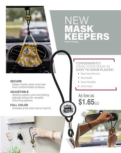 NEW Mask Keepers