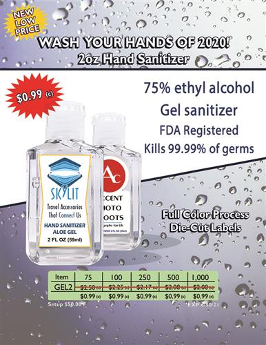 Gel Sanitizer Now 099 C