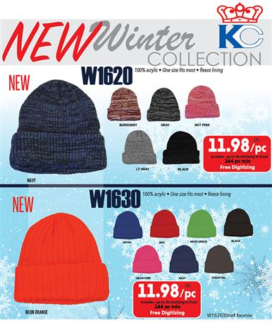 New Winter Collection from KC Caps