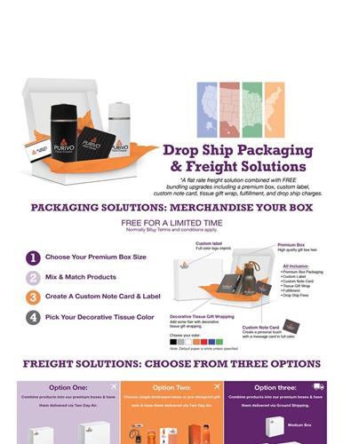 New Drop Ship Packaging  Freight Solutions Program