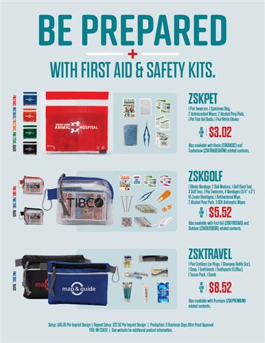Stay Safe On-The-Go with New Safety Kits