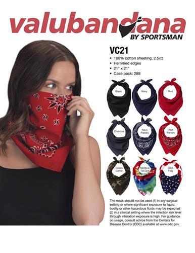 Fashionable Adjustable and Breathable Valubandana by Sportsm