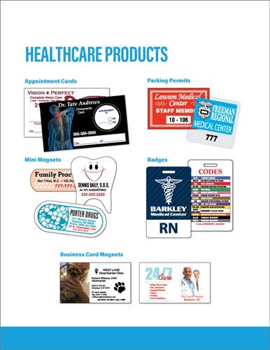 Target the healthcare market today