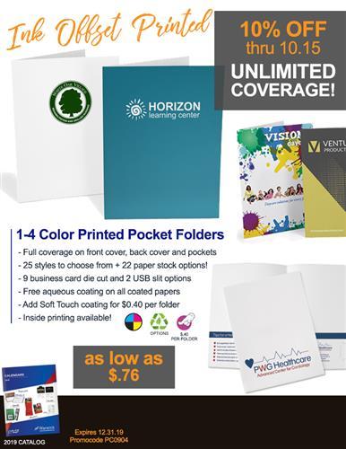 Limited Time Presentation Folder Sale