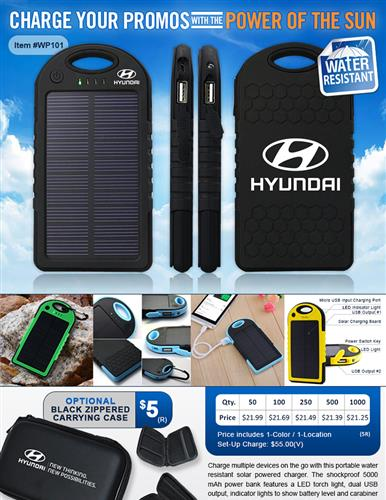 Super Charge your Brand with Solar Power Banks