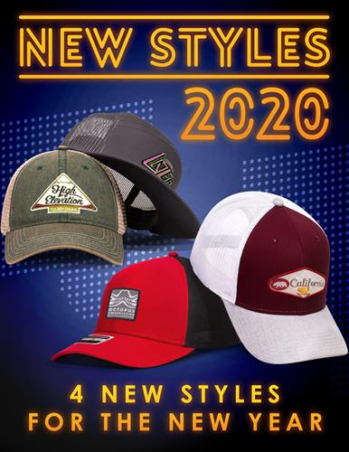 4 new styles for 2020 now in stock