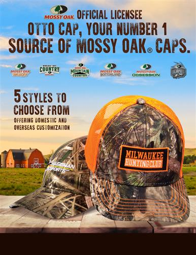 OTTO CAP - official licensee for Mossy Oak headwear